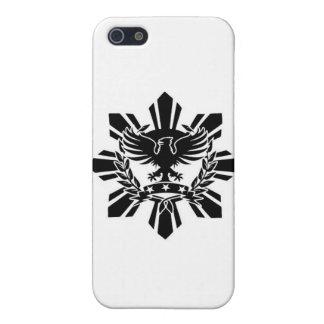 Filipino sun and eagle crest iPhone 5/5S case