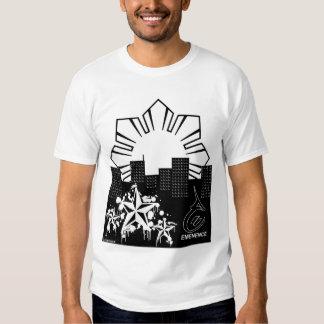 Filipino Sun and Stars City T Shirts