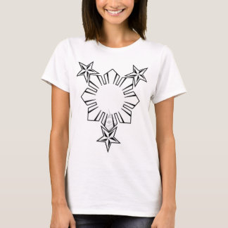 Filipino Sun and Stars Shirt