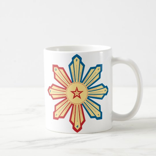 Filipino Sun - LS Coffee Mug