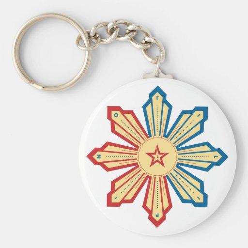 Filipino Sun - LS Keychain