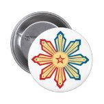 Filipino Sun - LS Pinback Buttons