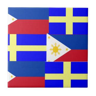 FILIPINO-SWEDISH TILE