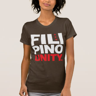 Filipino Unity - Red and White T-Shirt