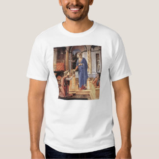 Filippo Lippi-Annunciation with Kneeling Donors T-shirts