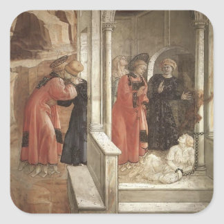 Filippo Lippi: Disputation in the Synagogue Stickers