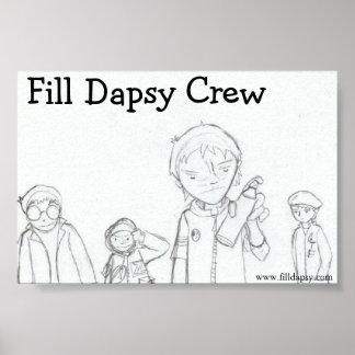 Fill Dapsy Crew Print
