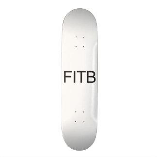fill in the blanks.ai 19.7 cm skateboard deck
