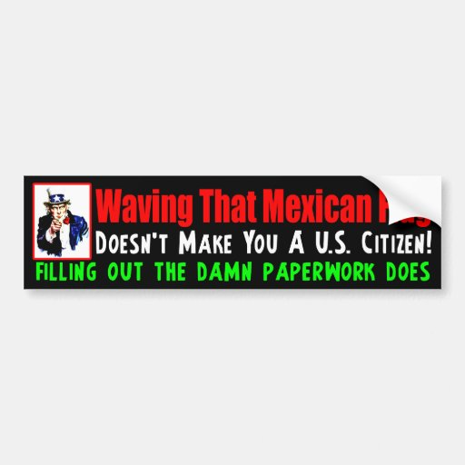 Fill Out The Paperwork! Bumper Sticker
