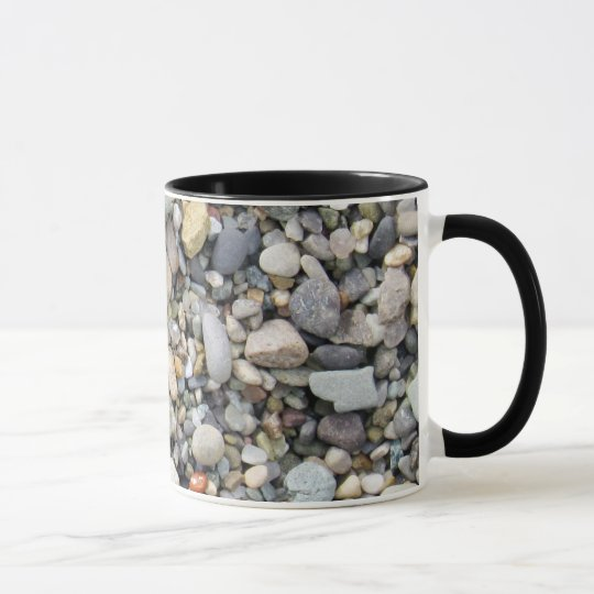 Fill Sand Design Coffee Mug