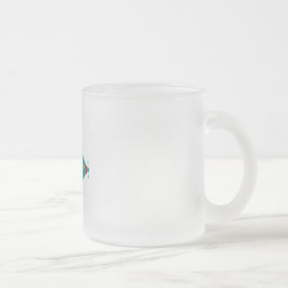 Fill the sea frosted glass coffee mug