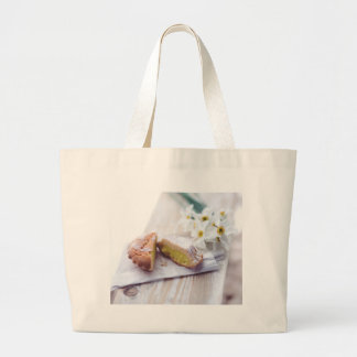 Fill with Cream Pastry Large Tote Bag