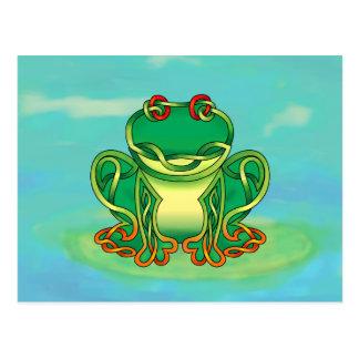 Filled Frog Post Card