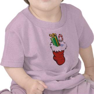 Filled Santa Stocking Tee Shirt