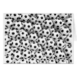 Filled With Soccer Balls Greeting Card