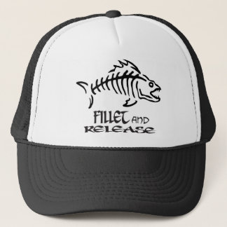 FILLET AND RELEASE TRUCKER HAT
