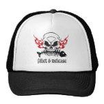 Fillet & Release Skull Trucker Hat