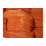 Filleted Salmon Greeting Cards