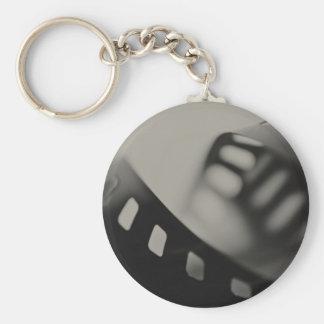 Film Background Key Ring