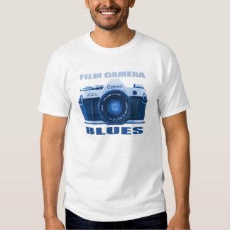FILM CAMERA BLUES Canon AE-1 T-shirt