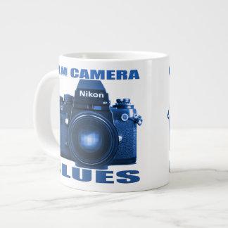FILM CAMERA BLUES Nikon F-3  MUG Jumbo Mug