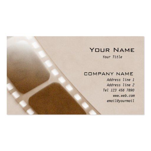 Film company Business Card