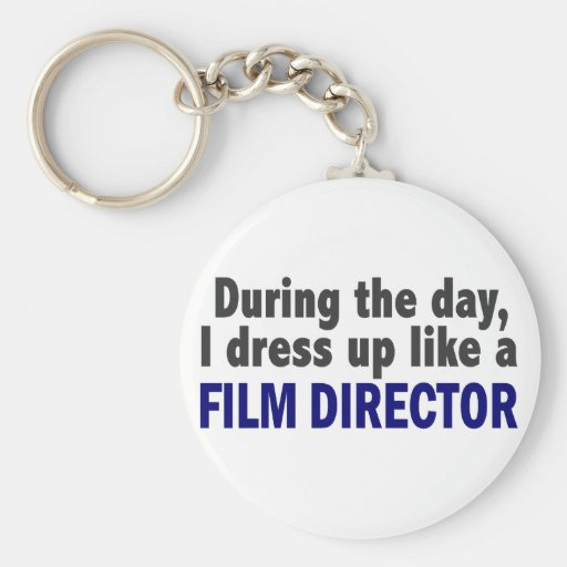 Film Director During The Day Keychain