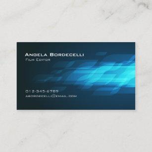 Film editor business cards business card printing zazzle uk film editor business card flashback colourmoves