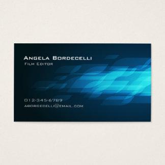 Film Editor Business Card Flashback