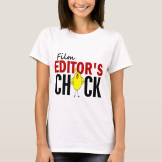 Film Editor's Chick T-Shirt