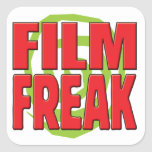 Film Freak R Square Sticker