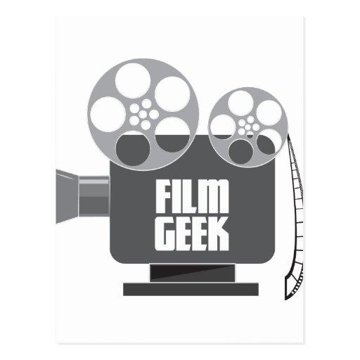 Film Geek Post Card