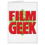 Film Geek v2 Greeting Card