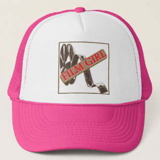 FILM GIRL LOGO 4 TRUCKER HAT