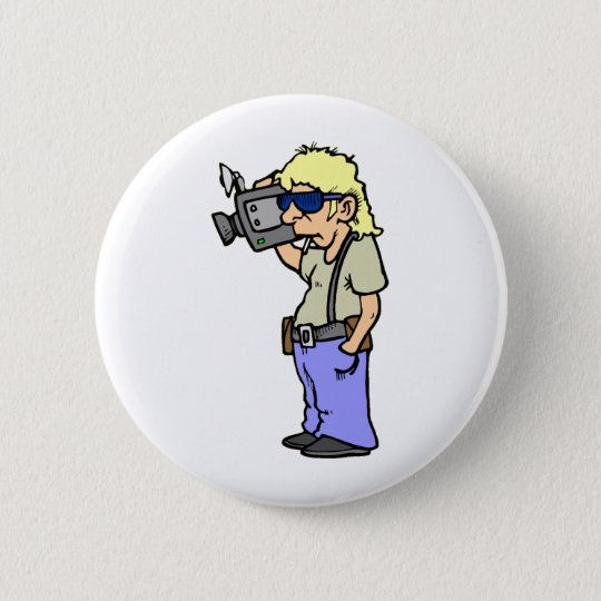 Film Maker 6 Cm Round Badge