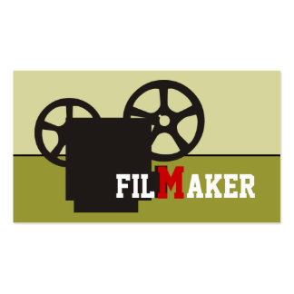Film maker/director/Movie maker business cards
