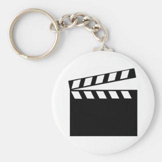 Film Movie Clapper Key Ring