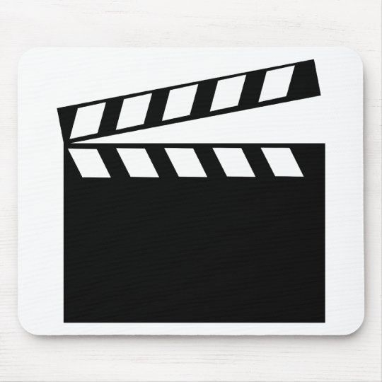 Film Movie Clapper Mouse Pad