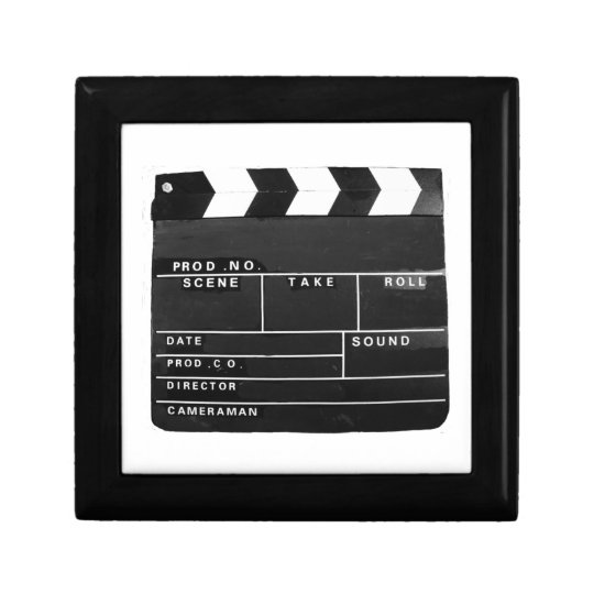 Film Movie Video production Clapper board Gift Box
