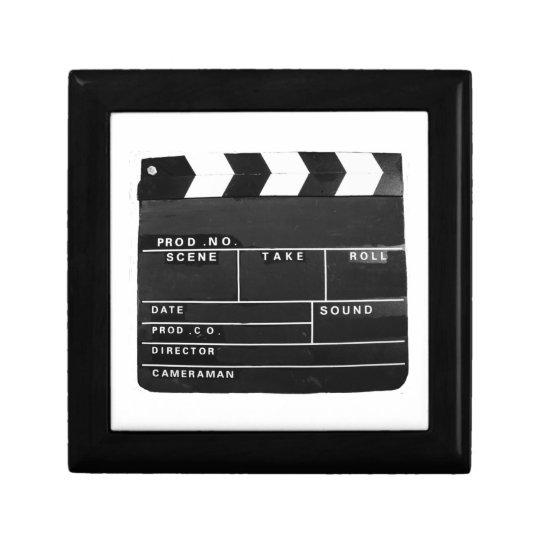 Film Movie Video production Clapper board Small Square