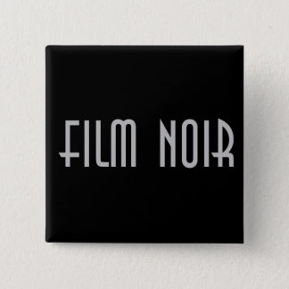 Film Noir 15 Cm Square Badge