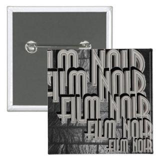 Film Noir 15 Cm Square Badge