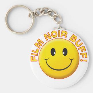 Film Noir Buff Smile Key Chains