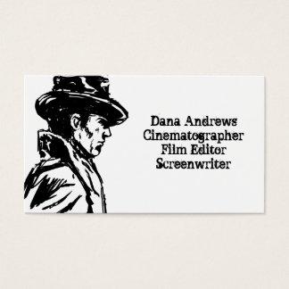 Film Noir Detective Business Card