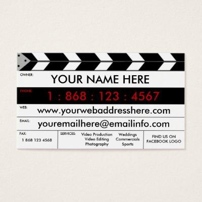 Video editor cinematography film business card zazzle colourmoves Image collections