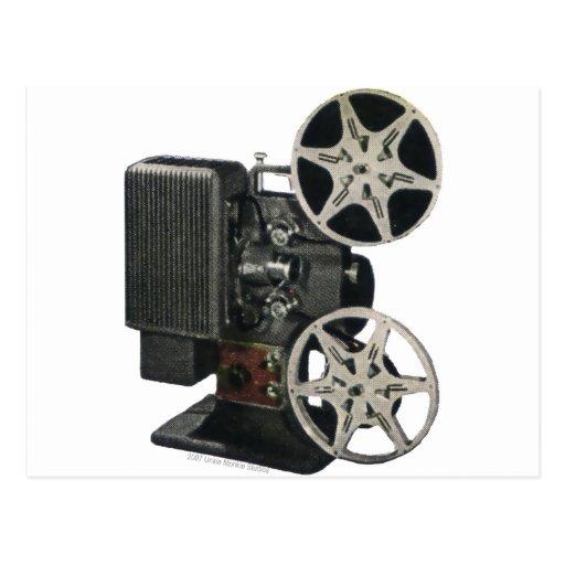 Film Projector 1947 Postcard