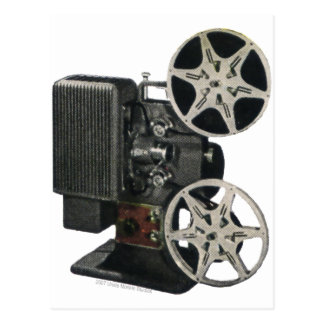 Film Projector 1947 Postcard