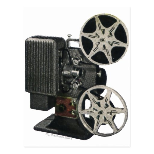 Film Projector 1947 Postcards