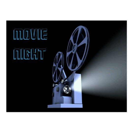 Film Projector Postcard