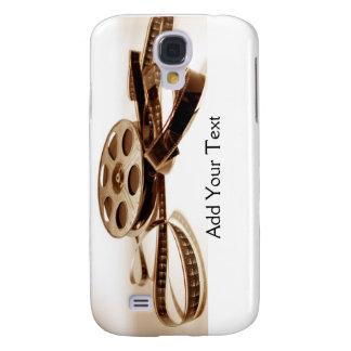 Film Reel in Sepia Tones Background Galaxy S4 Case